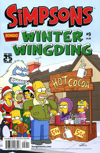 Cover Thumbnail for The Simpsons Winter Wingding (Bongo, 2006 series) #9