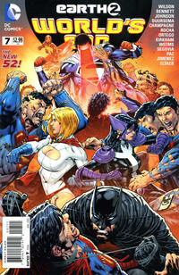 Cover Thumbnail for Earth 2: World's End (DC, 2014 series) #7