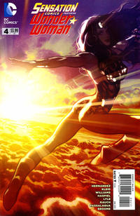 Cover Thumbnail for Sensation Comics Featuring Wonder Woman (DC, 2014 series) #4