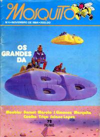 Cover Thumbnail for O Mosquito [Série 5] (Carlos & Reis, Lda., 1984 series) #4