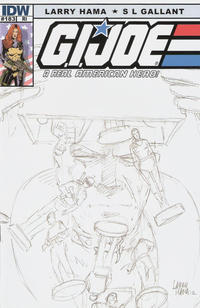 Cover Thumbnail for G.I. Joe: A Real American Hero (IDW, 2010 series) #183 [Retailer Incentive Cover]