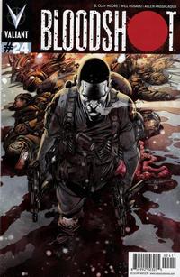Cover Thumbnail for Bloodshot (Valiant Entertainment, 2014 series) #24 [Cover A - Rafa Sandoval]