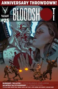 Cover Thumbnail for Bloodshot (Valiant Entertainment, 2014 series) #25 [Cover A - Lewis LaRosa]