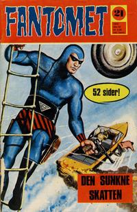 Cover Thumbnail for Fantomet (Romanforlaget, 1966 series) #21/1970