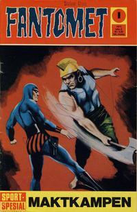 Cover Thumbnail for Fantomet (Romanforlaget, 1966 series) #1/1971