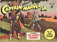 Cover Thumbnail for Captain Marvel Jr. (Cleland, 1947 series) #46