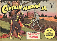 Cover Thumbnail for Captain Marvel Jr. (Cleland, 1947 series) #46