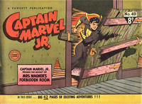 Cover Thumbnail for Captain Marvel Jr. (Cleland, 1947 series) #49