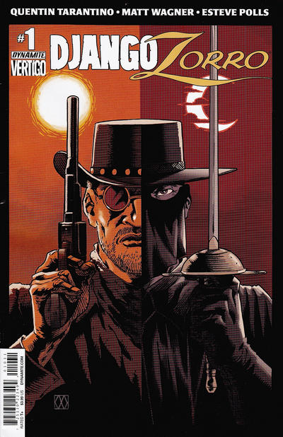 Cover for Django / Zorro (Dynamite Entertainment, 2014 series) #1 [Cover A - Jae Lee]