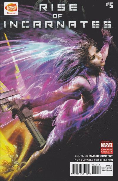 Cover for Rise of Incarnates (Marvel, 2014 series) #5