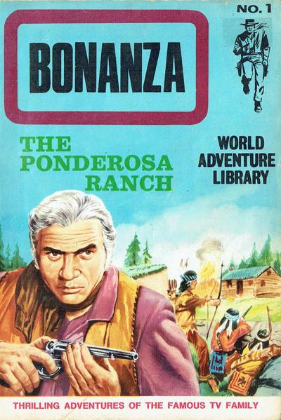 Cover for Bonanza World Adventure Library (World Distributors, 1967 series) #1