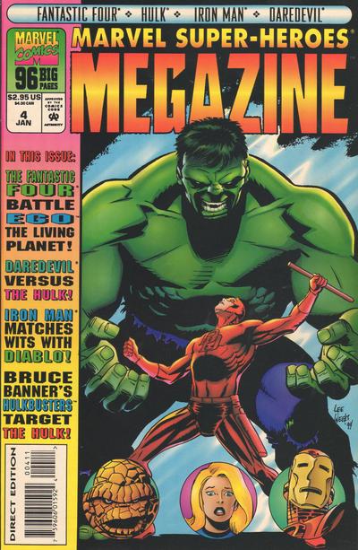 Cover for Marvel Super-Heroes Megazine (Marvel, 1994 series) #4