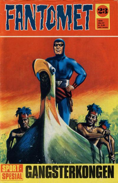 Cover for Fantomet (Romanforlaget, 1966 series) #23/1970