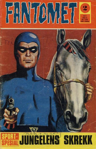Cover for Fantomet (Romanforlaget, 1966 series) #2/1971