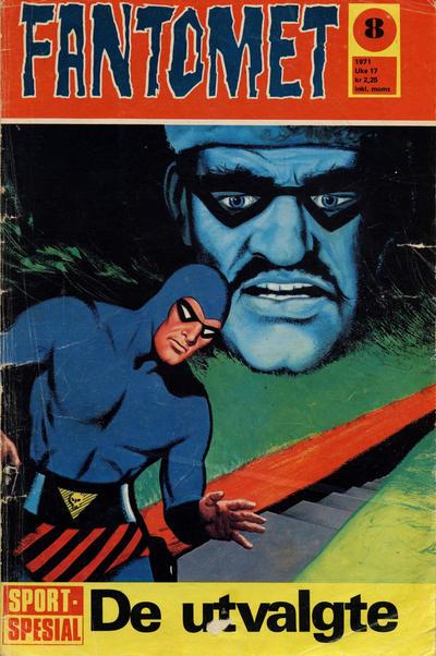 Cover for Fantomet (Romanforlaget, 1966 series) #8/1971