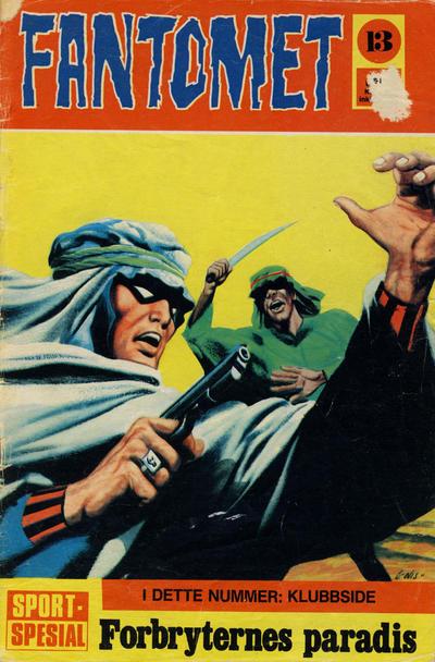 Cover for Fantomet (Romanforlaget, 1966 series) #13/1971