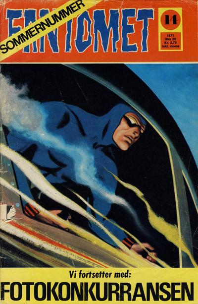 Cover for Fantomet (Romanforlaget, 1966 series) #14/1971