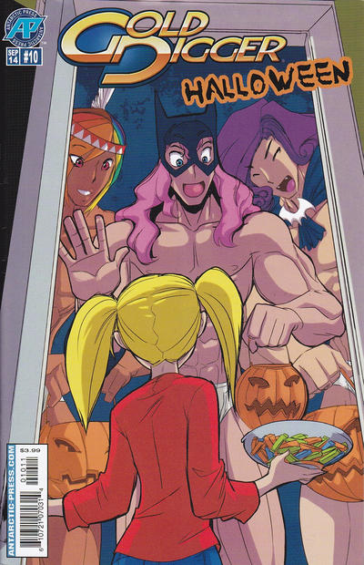 Cover for Gold Digger Halloween Special (Antarctic Press, 2005 series) #10