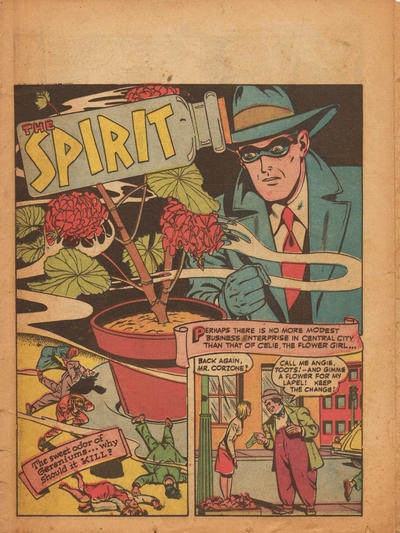 Cover for The Spirit (Register and Tribune Syndicate, 1940 series) #6/18/1944