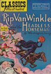 Cover for Classics Illustrated (Gilberton, 1947 series) #12 - Rip Van Winkle and the Headless Horseman [HRN 89]