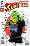 Cover for Superman (DC, 2011 series) #36 [Lego Cover]
