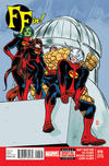 Cover Thumbnail for FF (2013 series) #16 [Mike Allred Variant]
