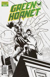 "Cover for Green Hornet (Dynamite Entertainment, 2010 series) #17 [Retailer Incentive ""Black, White & Green"" Phil Hester Cover]"