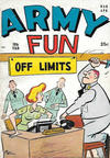 Cover for Army Fun (Prize, 1952 series) #v5#9