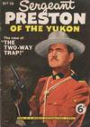 Cover for Sergeant Preston of the Yukon (World Distributors, 1953 series) #19