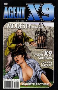Cover Thumbnail for Agent X9 (Hjemmet / Egmont, 1998 series) #9/2008