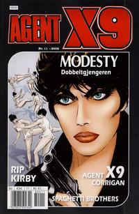 Cover Thumbnail for Agent X9 (Hjemmet / Egmont, 1998 series) #11/2008