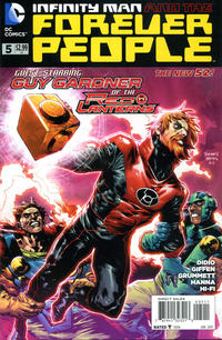 Cover Thumbnail for Infinity Man and the Forever People (DC, 2014 series) #5