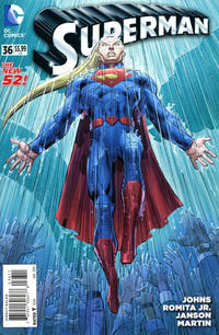 Cover Thumbnail for Superman (DC, 2011 series) #36 [Direct Sales]