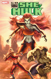 Cover Thumbnail for All-New Savage She-Hulk (Marvel, 2009 series) #[nn]