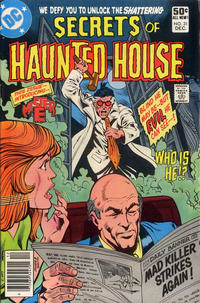 Cover Thumbnail for Secrets of Haunted House (DC, 1975 series) #31 [Newsstand Edition]