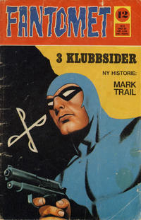 Cover Thumbnail for Fantomet (Romanforlaget, 1966 series) #12/1972