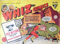 Cover Thumbnail for Whiz Comics (Cleland, 1946 series) #54