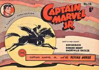 Cover Thumbnail for Captain Marvel Jr. (Cleland, 1947 series) #16