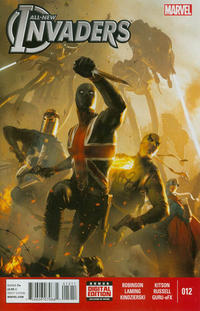 Cover Thumbnail for All-New Invaders (Marvel, 2014 series) #12