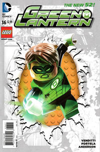 Cover Thumbnail for Green Lantern (DC, 2011 series) #36 [Lego Variant Cover]