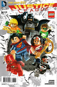 Cover Thumbnail for Justice League (DC, 2011 series) #36 [Lego Variant Cover]