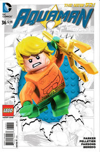 Cover Thumbnail for Aquaman (DC, 2011 series) #36 [Lego Cover]