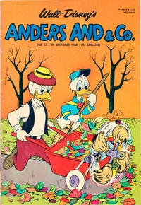 Cover Thumbnail for Anders And & Co. (Egmont, 1949 series) #44/1968
