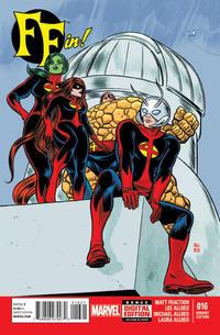 Cover Thumbnail for FF (Marvel, 2013 series) #16 [Mike Allred Variant]
