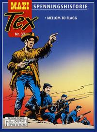 Cover Thumbnail for Maxi Tex (Hjemmet / Egmont, 2008 series) #37 - Mellom to flagg