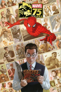 Cover Thumbnail for Marvel 75th Anniversary Omnibus (Marvel, 2014 series)