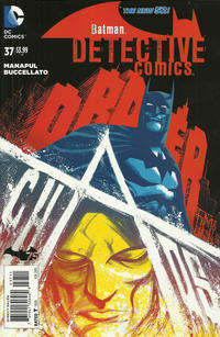 Cover Thumbnail for Detective Comics (DC, 2011 series) #37 [Direct Sales]