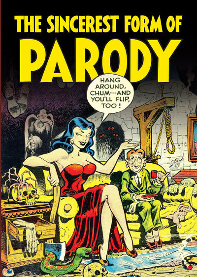 Cover for The Sincerest Form of Parody: The Best 1950s MAD-Inspired Satirical Comics (Fantagraphics, 2012 series)