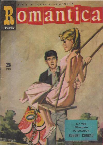 Cover for Romantica (Ibero Mundial de ediciones, 1961 series) #208