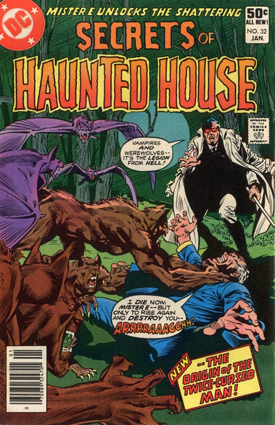 Cover for Secrets of Haunted House (DC, 1975 series) #32 [Newsstand Edition]